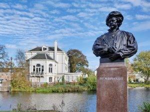 Rembrandt Statue Leiden