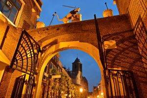 Gate to the Burcht Leiden