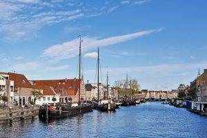 Galgewater Leiden river Rhine.