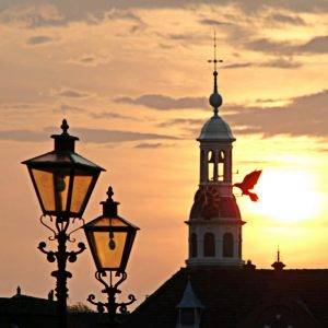 Sunset Eastern Gate Leiden